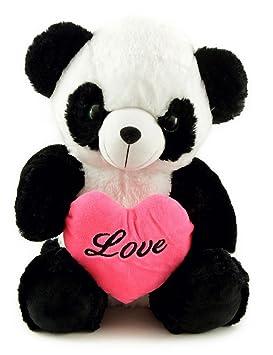 Peluche Love Panda Oso Panda 45 cm con Corazón De Amor