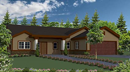 Custom Home Construction Plan Set For A 2,168 Sf (livable) Single Story  U0027Ranch