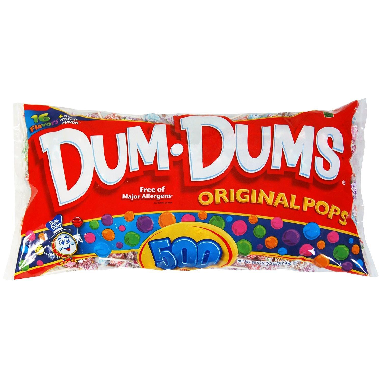 Dum Dum Pops (500 ct.) (pack of 2)