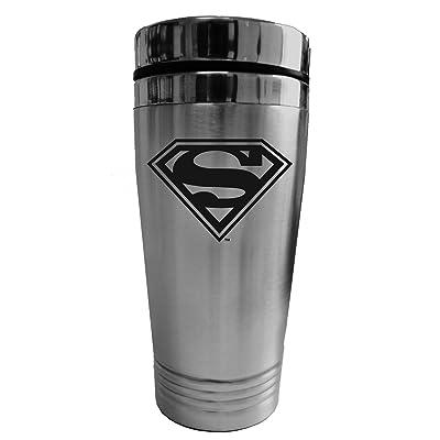 CHROMA 57504 Stainless Superman Logo Travel Tumblerz: Automotive