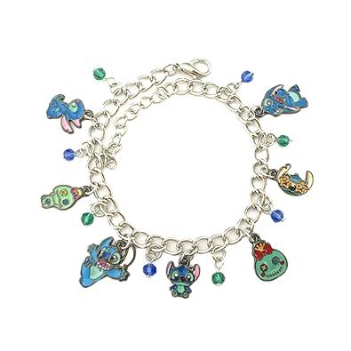 d77c855adf4e Colección de joyas Lilo y Stitch pulsera en caja de regalo  Amazon.es   Joyería