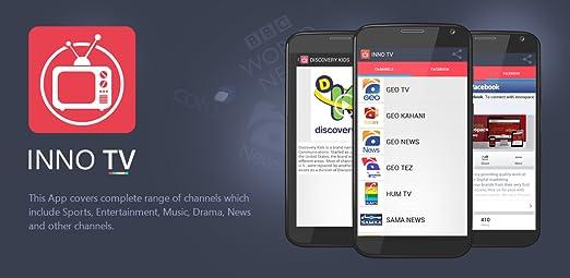 Amazon com: INNO TV: Appstore for Android