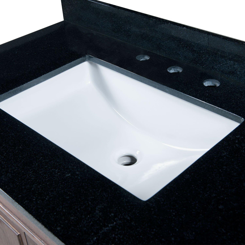 maykke bristol ceramic undermount bathroom vanity sink in white ysa1092001 amazoncom