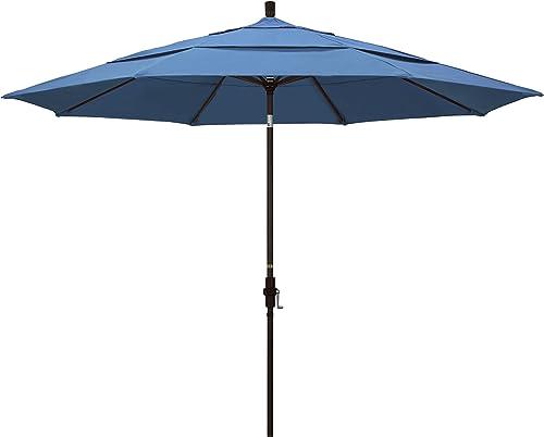 California Umbrella 11' Round Aluminum Market Umbrella