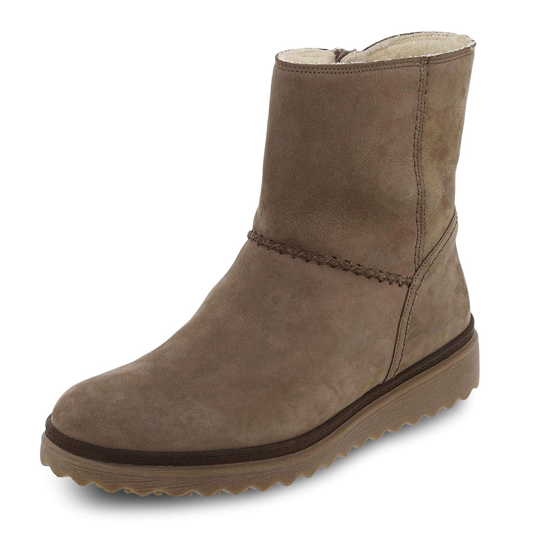 Gabor 93.802-72 Damen Stiefel mit 15-mm-Keilabsatz Reißverschluss aus Nubukleder