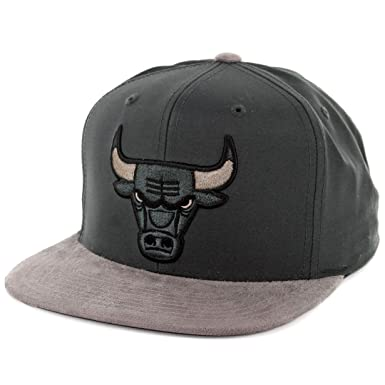 07362d53930f7 Image Unavailable. Image not available for. Color  Mitchell And Ness Men s NBA  Chicago Bulls Buttery Snapback Hat
