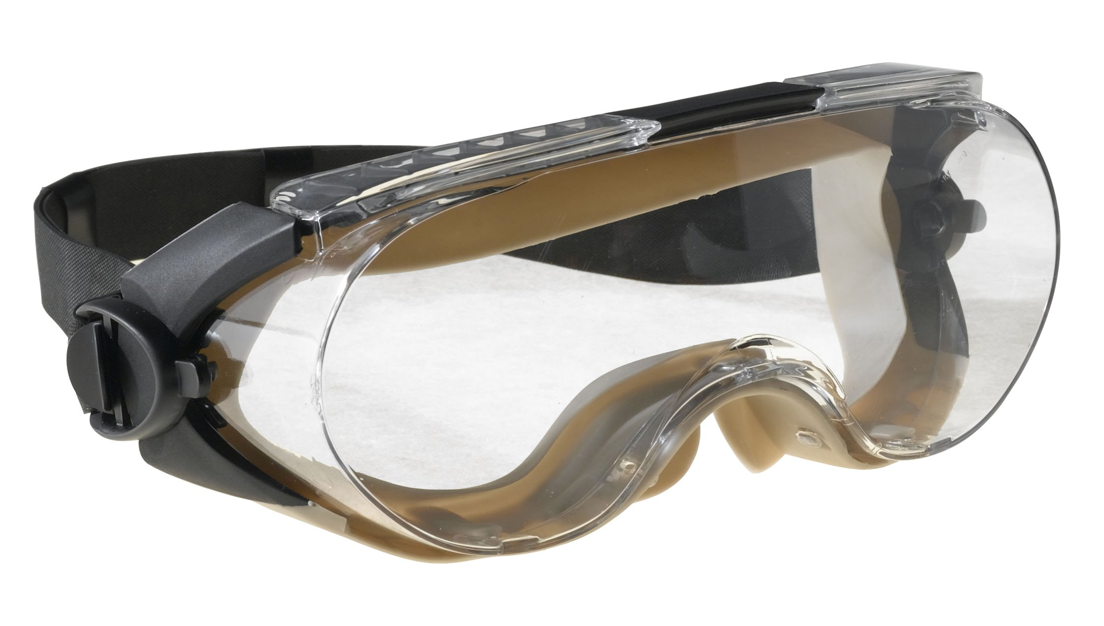 3M Maxim Safety Splash Goggle, 40671-00000-10 Over-the-Glass, Clear Anti-Fog Lens  (Pack of 1) by 3M Personal Protective Equipment (Image #2)