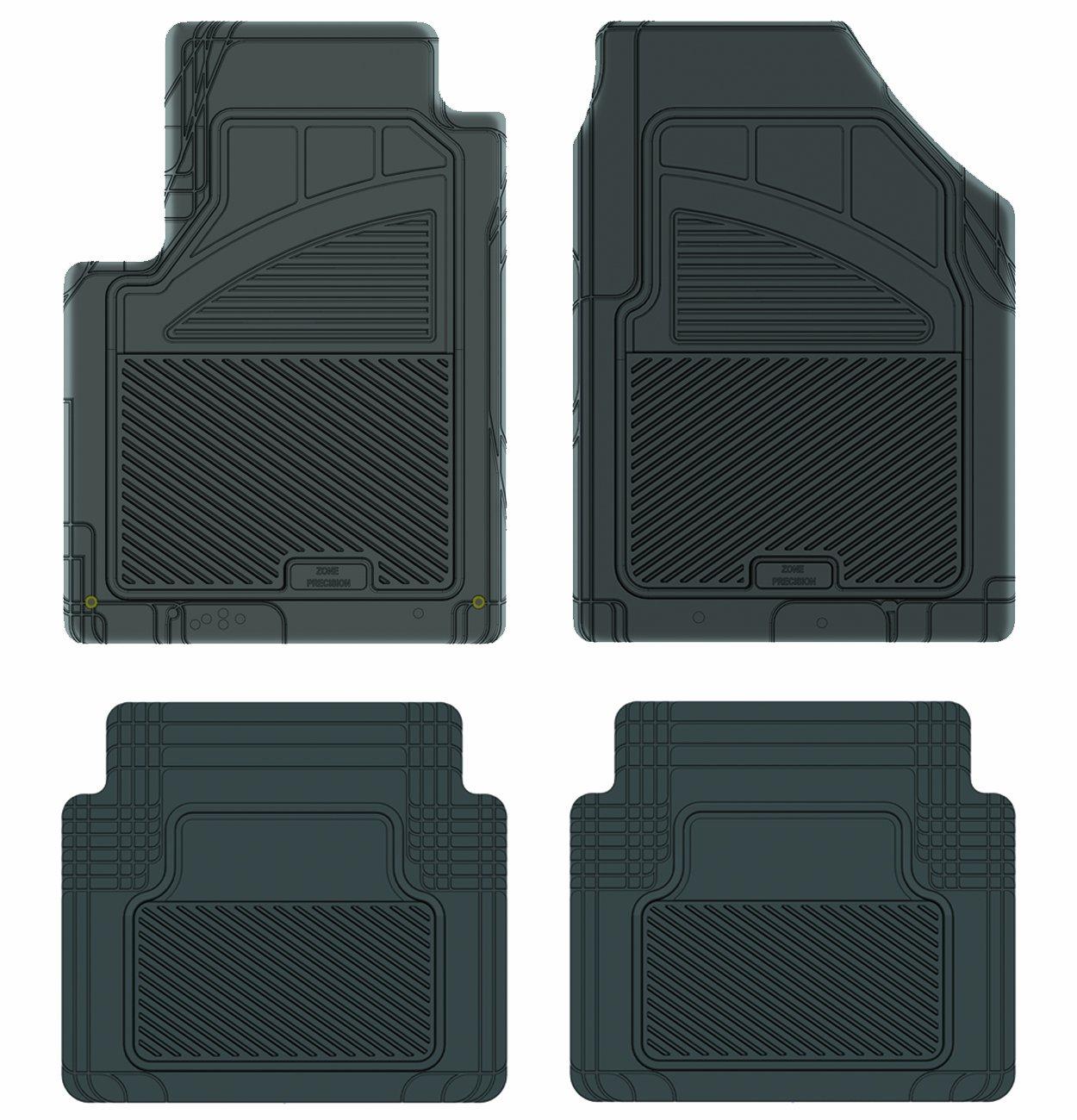 Grey Koolatron Pants Saver Custom Fit 4 Piece All Weather Car Mat for Select Nissan Murano Models