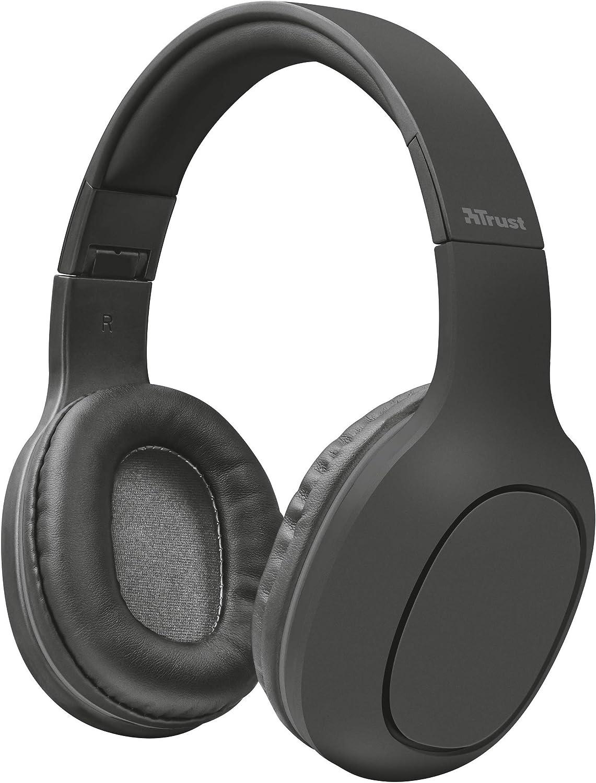 Trust Urban Dona Auriculares Inalámbricos con Tecnología Bluetooth, Gris