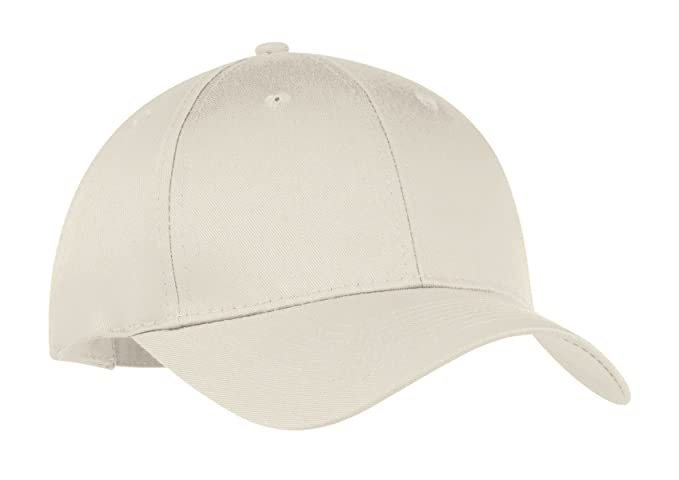 14336307c5c Image Unavailable. Image not available for. Color  Port   Company  Unisex-adult Six-Panel Twill Cap CP80 -Oyster OSFA