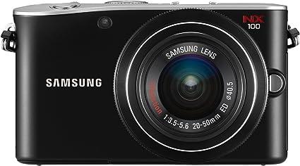 Samsung Nx100 Systemkamera 3 Zoll Inkl 20 50 Mm Kamera