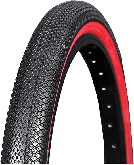 "Speedster BMX Tire Vee Tire Co 20/"" x 1.75/"" Folding Bead Black"