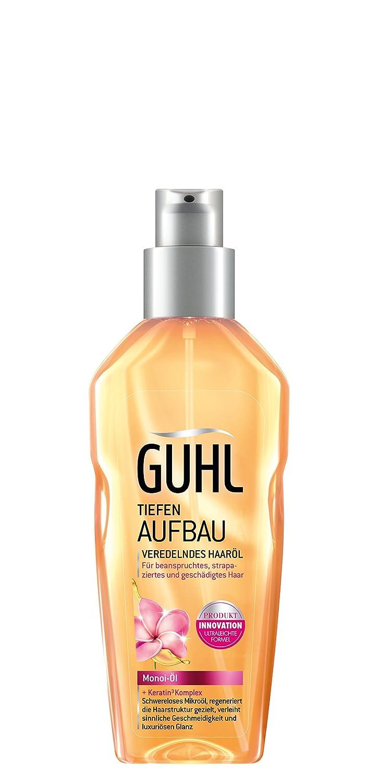 Guhl Tiefen Aufbau Veredelndes Haaröl - 1er Pack (1x 100 ml) - mit Monoi-Öl - regeneriert die Haar-Struktur - verleiht luxuriösen Glanz 22124