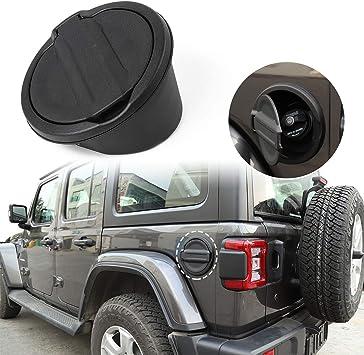 Fuel Filler Door Cover Gas Cap Accessories For 2018 2019 Jeep Wrangler JL Parts
