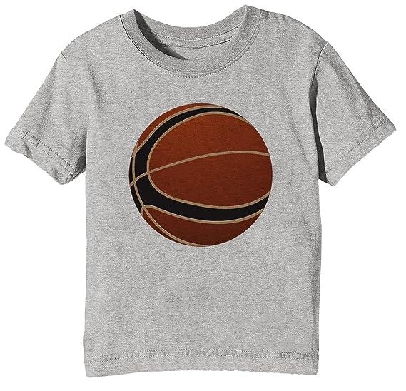 Baloncesto Pelota Niños Unisexo Niño Niña Camiseta Cuello ...