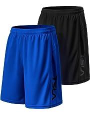 """Tesla Men's Running Shorts Quick Dry Mesh Liner Jogging Training 3""""/ 4""""/ 5""""/ 7"""" MBH23 MBH24 MBH25 MBH27"""