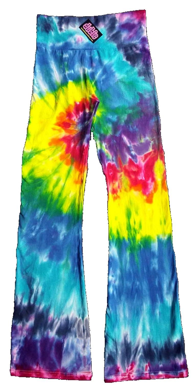 24d3456a77 Rainbow Chakra Tie Dye Yoga Pants at Amazon Women's Clothing store: