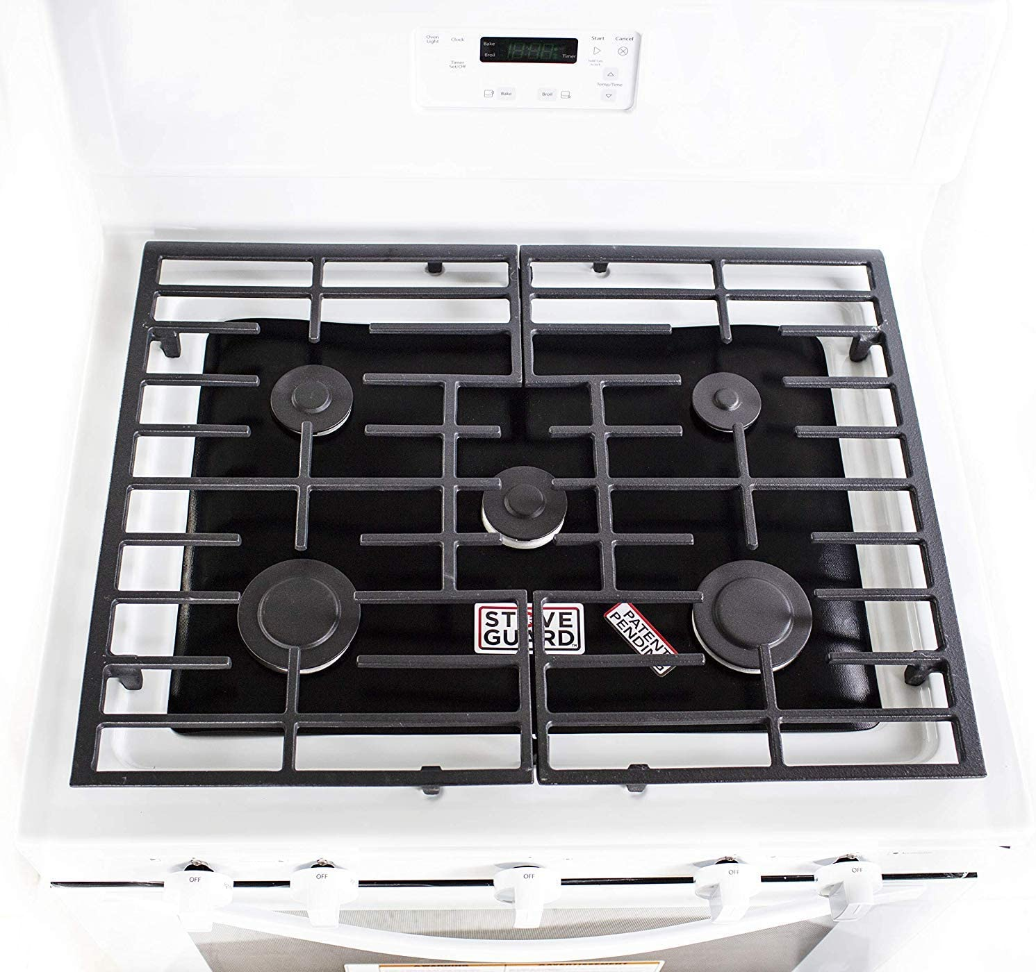 Samsung Stove Protectors Stove Top Protector for Samsung Gas Ranges Ultra Thin Easy Clean Stove Liner