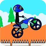 Doodle Stick Bike Racing 2 (a BMX stickman stunt game) offers
