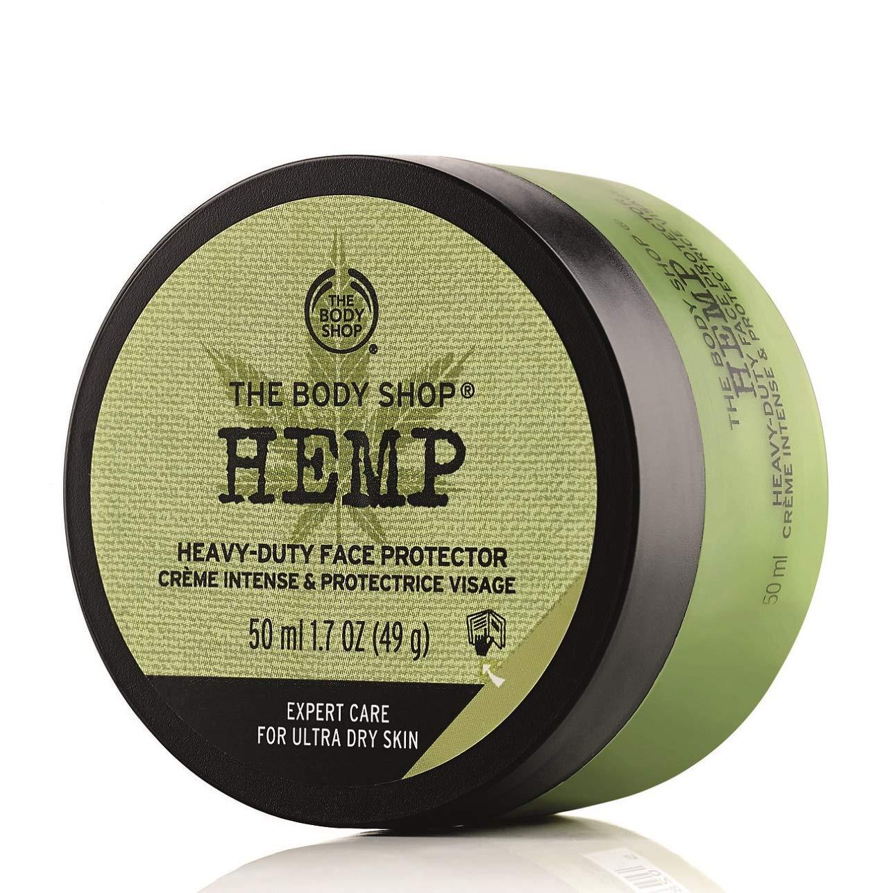 The Body Shop, Hemp Face Protector ParabenFree Face Cream Oz, 1.7 Ounce