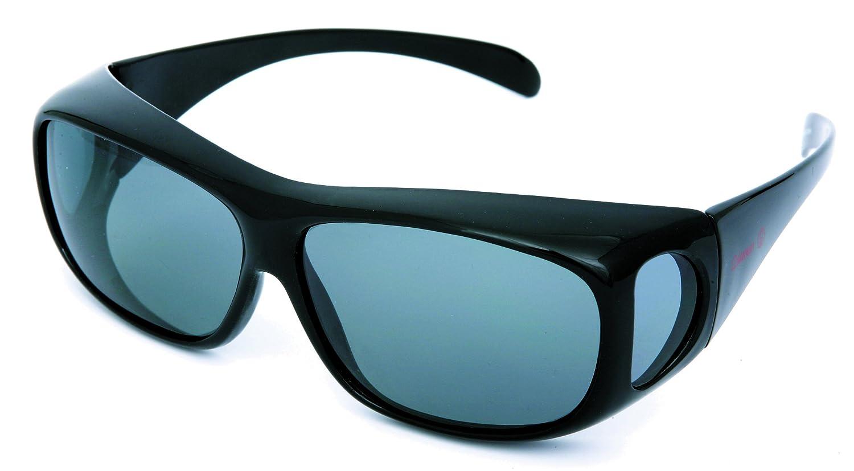Coleman コールマン サングラス メガネの上から偏光サングラス オーバーグラス CO3012-1の画像