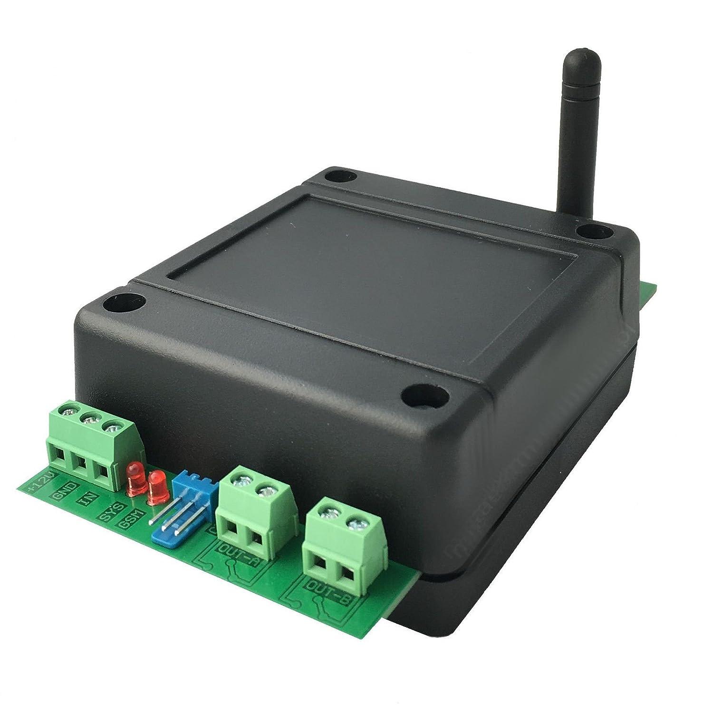 230V und 10A GSM Quadband Funk Modul Steuerung per SMS mit 2x Relais Ausg/ängen NC//NO max