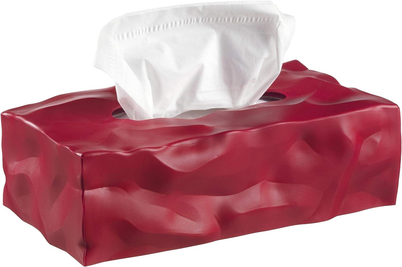Red Essey Wipy Cube Tissue Box Holder