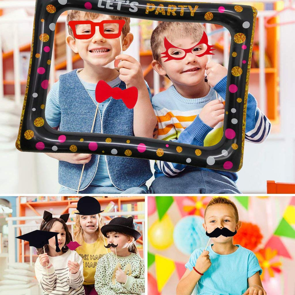 Amycute marcos photocall Inflable, Marco de Selfie Photocall ...