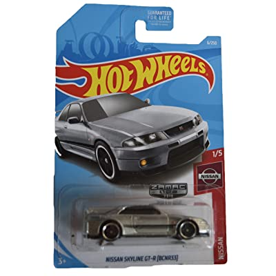 Hot Wheels 1:64 Scale Nissan Series 1/5, Zamac Nissan Skyline GT-R 6/250: Toys & Games