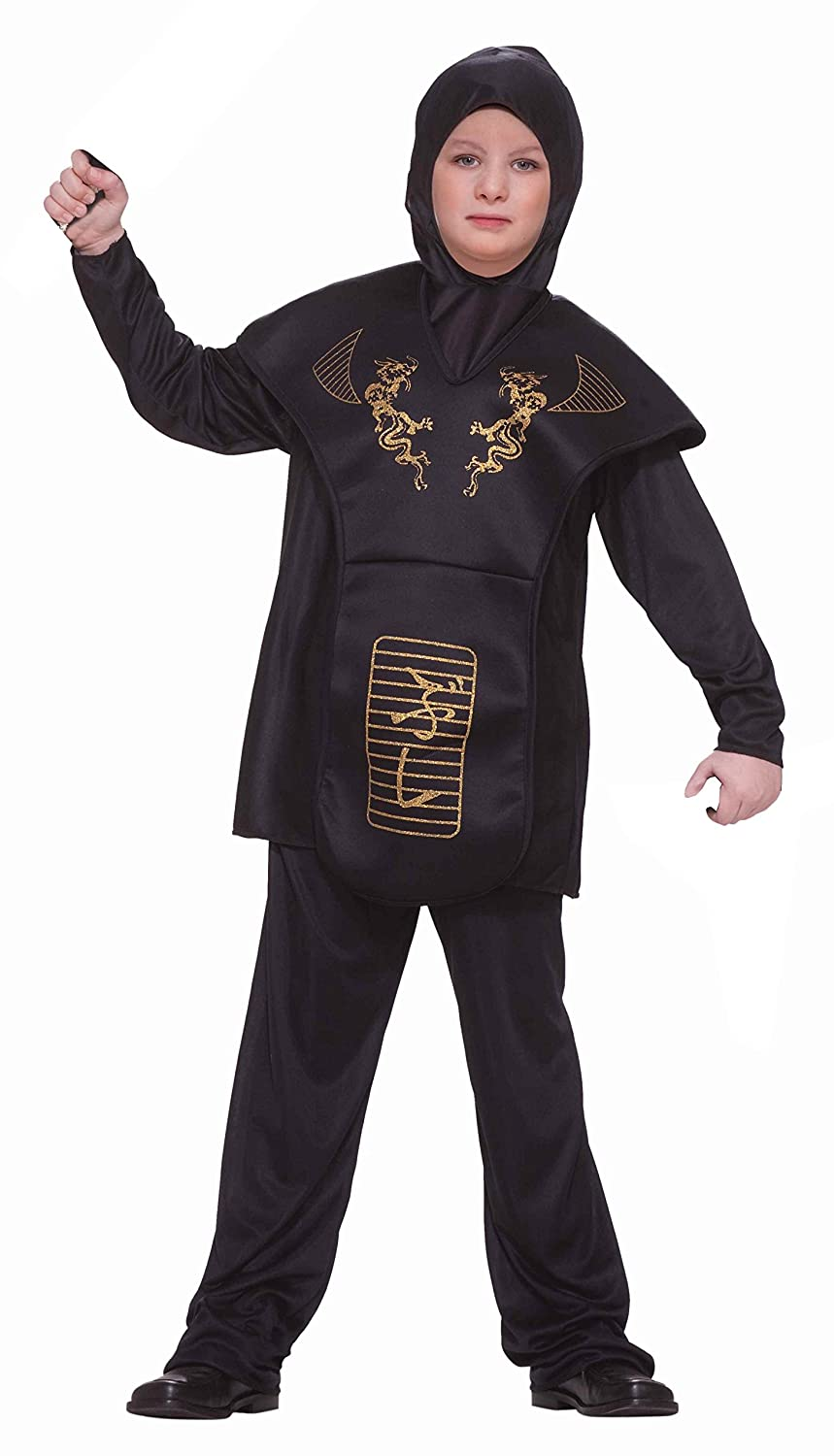Forum Black Dragon Ninja Costume L: Amazon.es: Juguetes y juegos