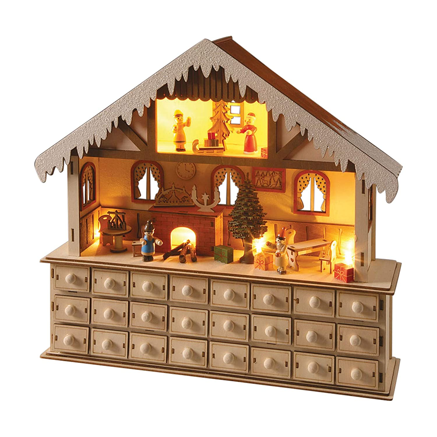 Light Up Santa's Workshop Advent Calendar