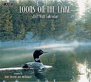 Lang Loons On The Lake 2021 Wall Calendar (21991001925)