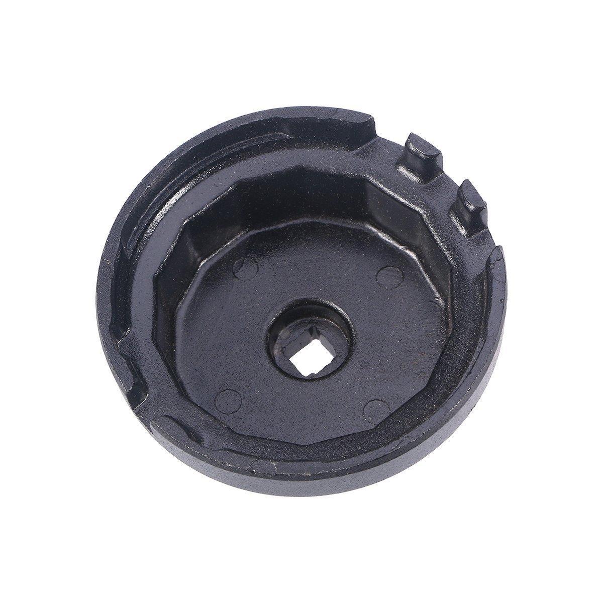 WINOMO Filtro de aceite llave para Lexus Rav4/Highlander Toyota Tundra con l/áser estilo carcasas de filtro de aceite