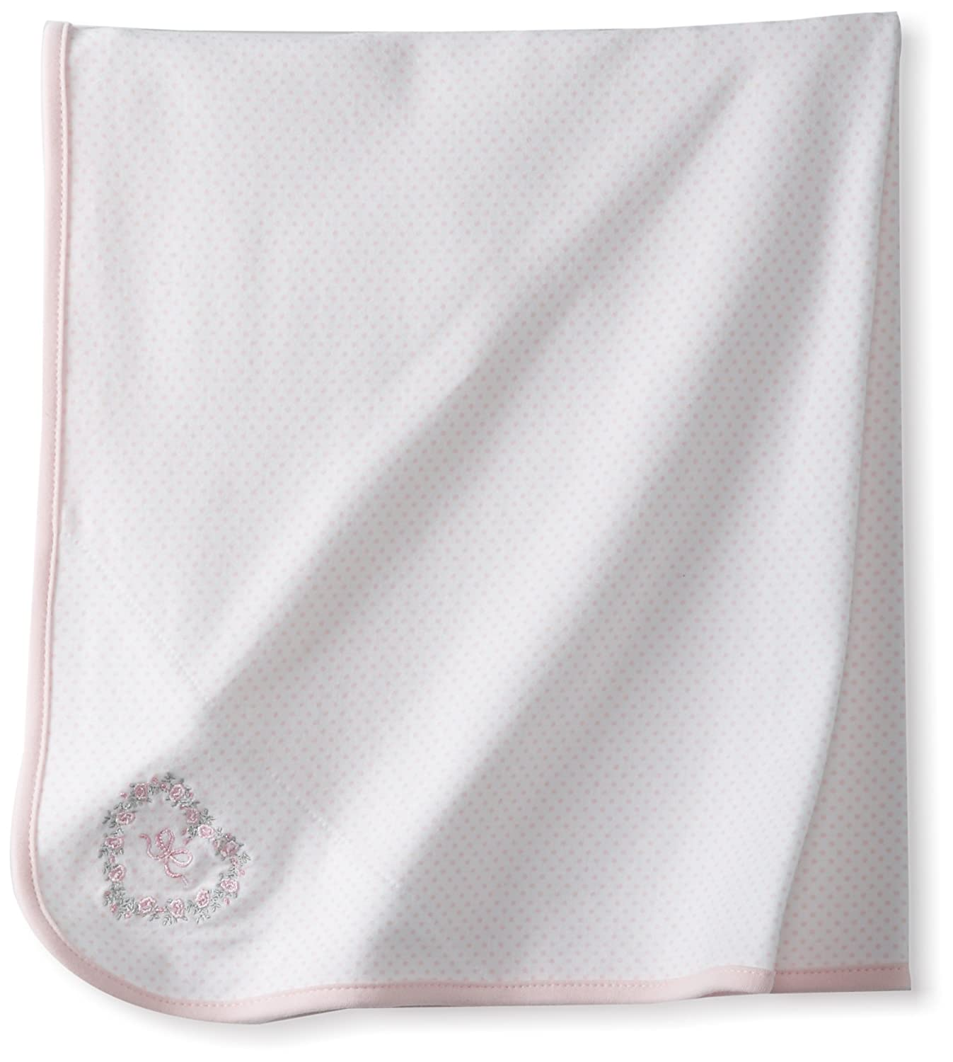 Little Me baby-girls Blanket White/Pink One Size 2-Pack LB700454N