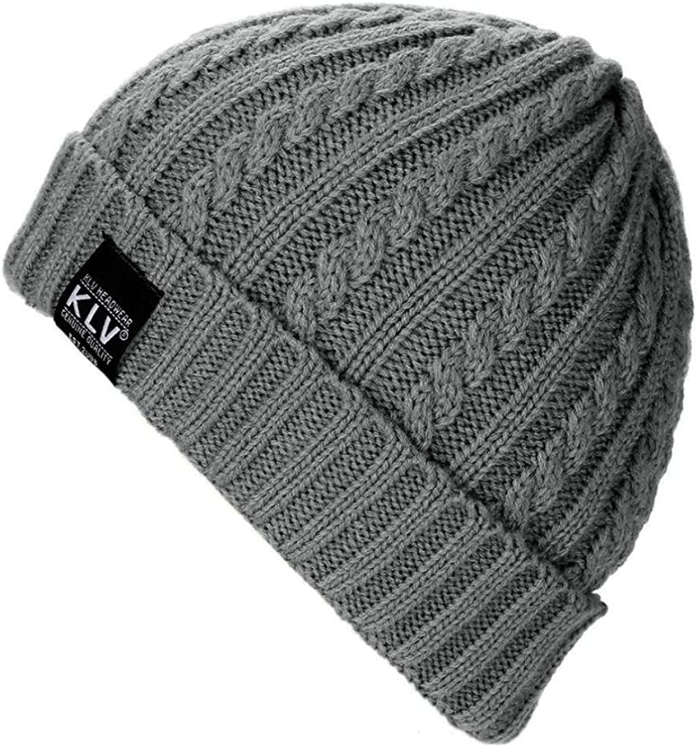 Leoy88 KLV Knit Cap Warm...