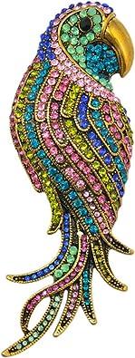 ARORA TOUCAN TROPICAL BIRD /& ANIMAL  CRYSTAL ENAMEL TRINKET BOX GIFT