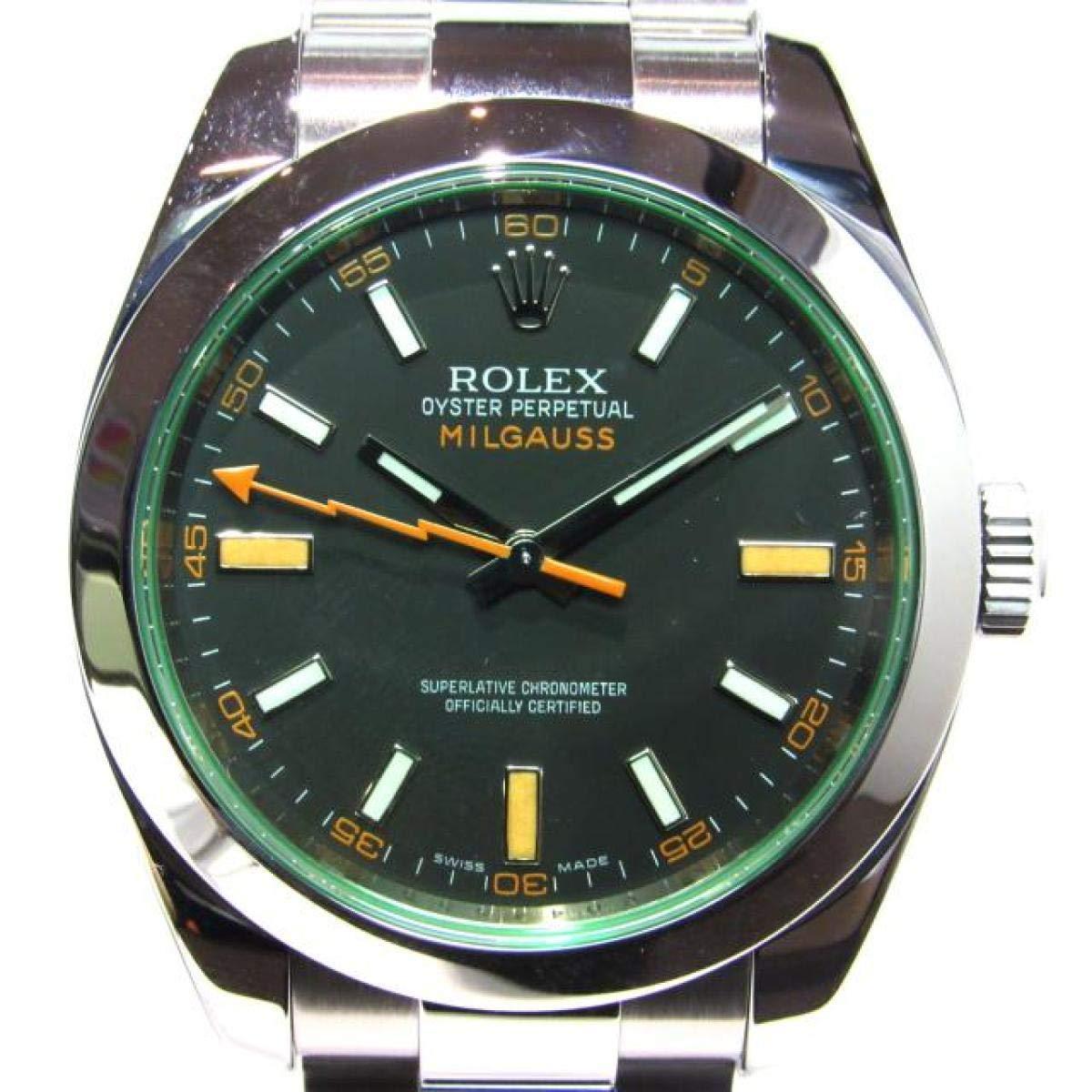Rolex Milgauss 116400 GV: Rolex: Amazon.fr: Montres