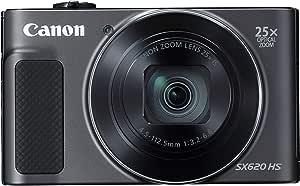 كاميرا محمولة كانون باور شوت SX620 HS - دقة 20ميجا بكسل ، اسود
