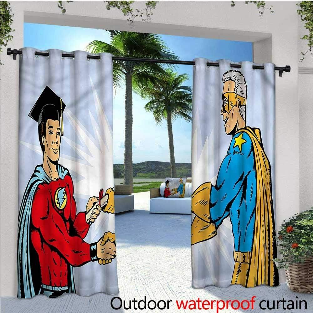 Cortina de privacidad para Exteriores de graduación para pérgola Estilo boceto, Libros, térmica, Aislante, Repelente al Agua, para balcón: Amazon.es: Jardín