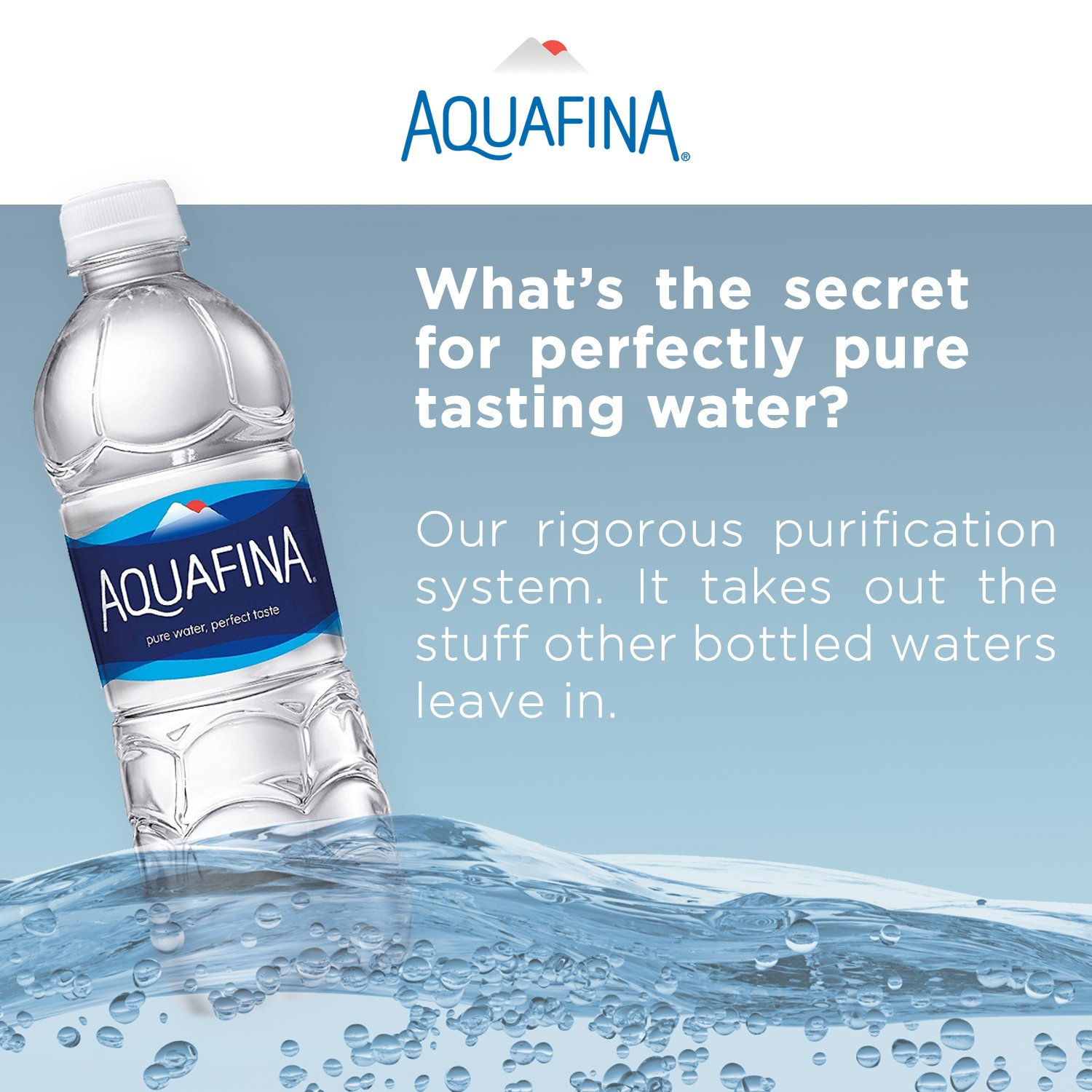 Aquafina Water 169 Oz Pack Of 24 Amazon Grocery Gourmet Food