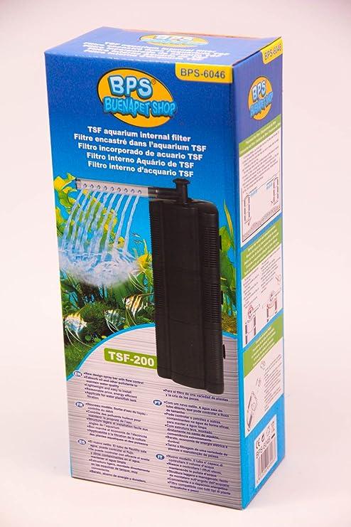 BPS (R) Filtro Profesional Acuario,Filtro Interno para Pecera,Ahorro de Energía.(4.8W ,240L/H)BPS-6046: Amazon.es: Hogar