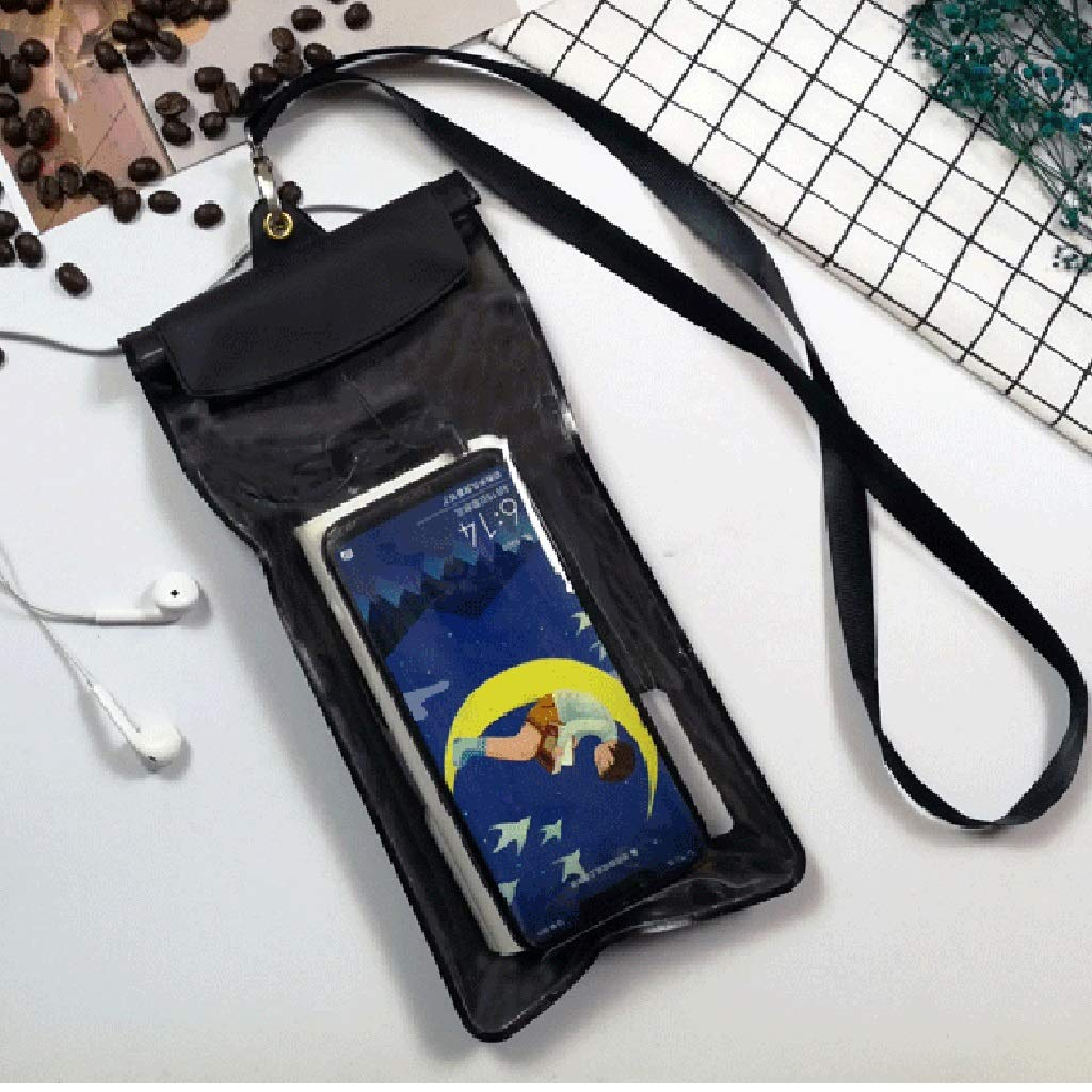 Hzpxsb Take-Out Special Mobile Phone Waterproof Cover Touch Screen Rechargeable Plug Headphones Rain Bag with Universal Mobile Phone Waterproof Bag