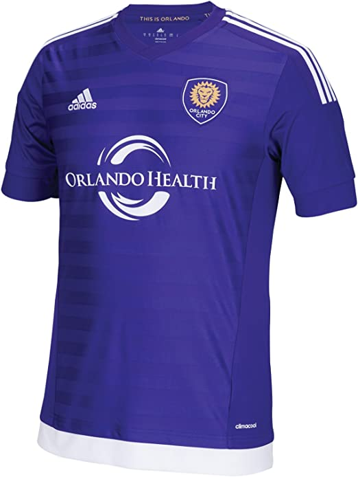 MLS Orlando City SC Womens Replica Short Sleeve Team Jersey White Large
