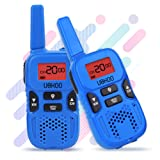 Amazon Price History for:Walkie Talkies for kids, 22 Channel 2 Way Radio 3 Miles FRS/GMRS Handheld Mini Walkie Talkies for Kids, Toys for 3 4 5 6 7 8+ Old Kids (Blue)