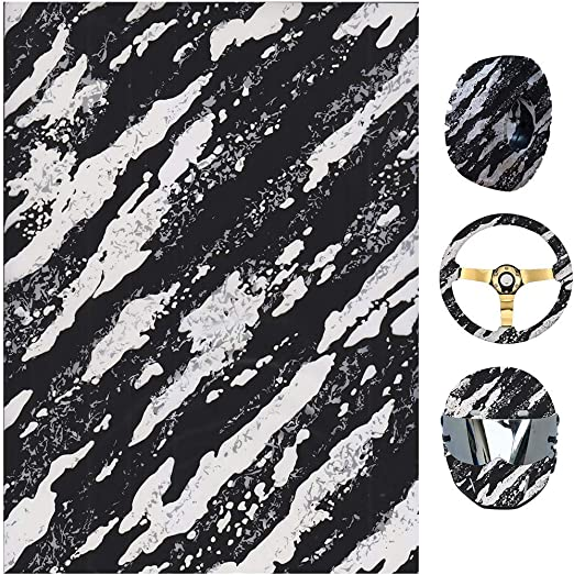 Hydro Dipping Hydro Dip Film for Decor ZHENXI Hydrographic Water Transfer Film Rims Great for Use on Automotive Parts Hard Hats,Electric Guitar Guard Cups