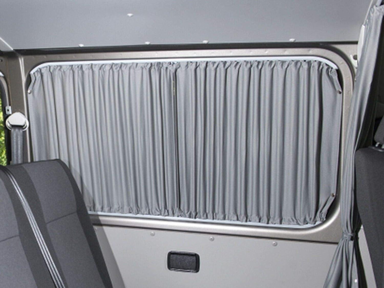 Gris cortina de furgoneta Kit de conversión para la mano izquierda Puerta Corredera ventana: Amazon.es: Coche y moto
