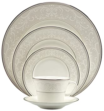 Nikko Pearl Symphony 5-Piece Place Setting  sc 1 st  Amazon.com & Amazon.com | Nikko Pearl Symphony 5-Piece Place Setting: Dinnerware ...