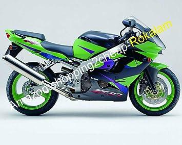 Amazon.com: 2000 2001 ZX 9R Custom Motorbike Bodywork ...