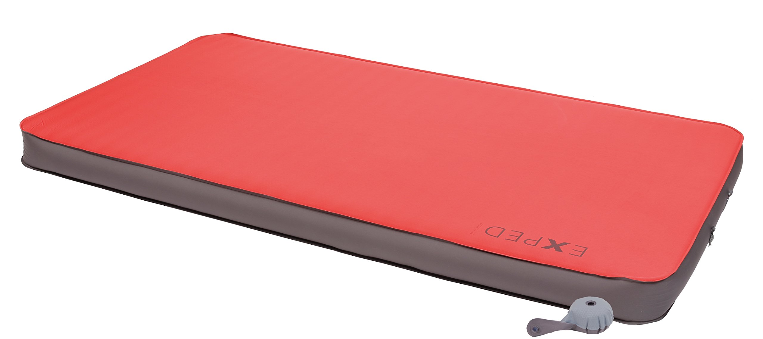Exped MegaMat Duo 10 Self-Inflating Sleeping Pad, Ruby Red, Medium by Exped