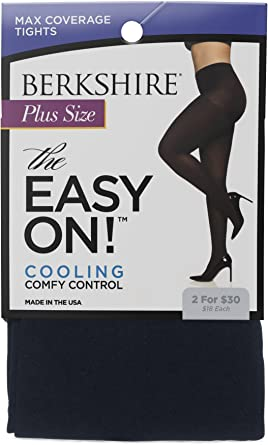 Details about  /Berkshire The Easy On Max Coverage Plus Size Tights